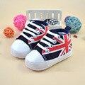 2017 nova 0-1 anos de idade as crianças sapatas de lona da criança do bebê sapatos meninas meninos sapatos crianças sapatilha crianças bota