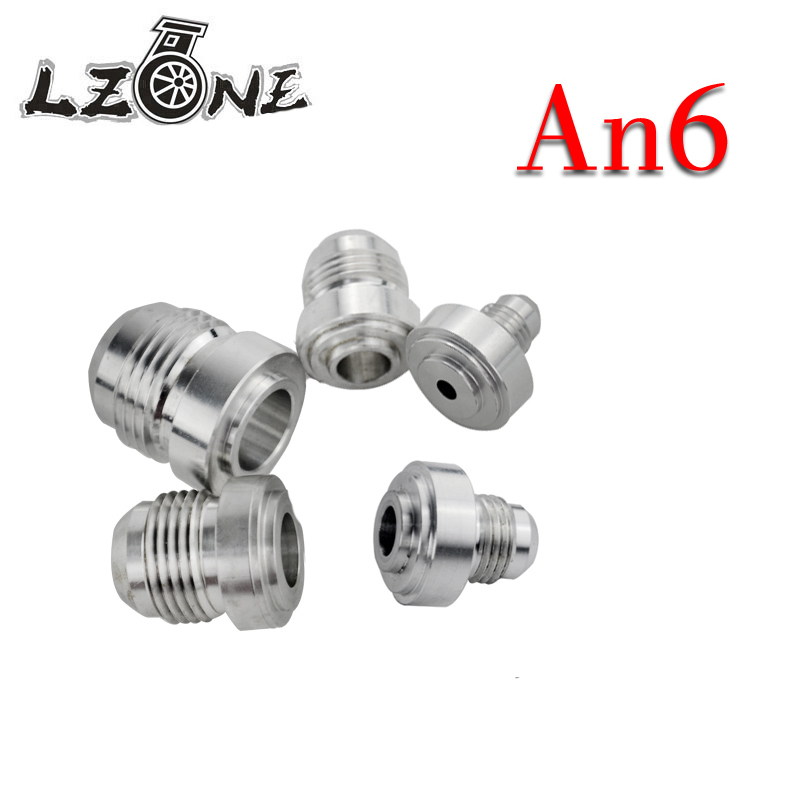 an Straight Male Weld Fitting Adapter Weld Bung Nitrous Hose Fitting Jr-sl617-7206 4pcs/set Top Quality Aluminum An6 Popular Brand Lzone