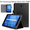 Para samsung galaxy tab a 10.1-polegadas sm-t585, vários ângulos de visão folio case capa para galaxy tab a 10.1 sm-t580 tablet