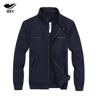 HYC Spring Men S Jackets 2017 New Arrival Mens Jackets Solid Coats Male Stand Collar Jacket
