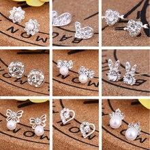 Hello Miss Fashion Korean Earrings Small Fresh Pearl Stud Womens