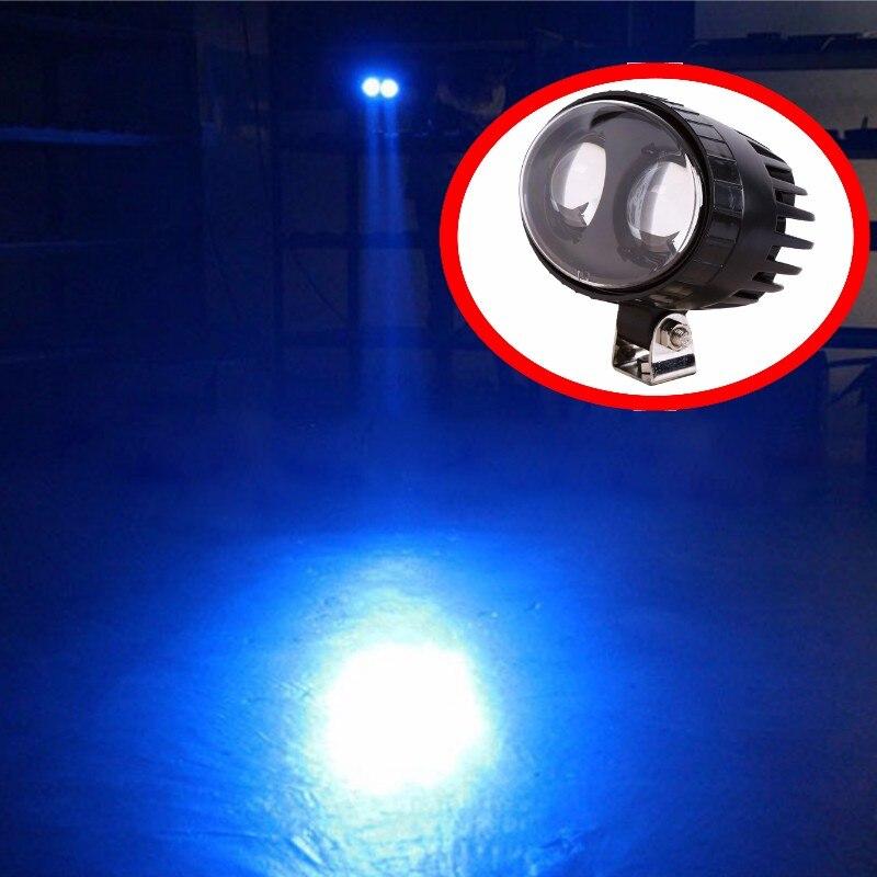 12 80v 20w Led Forklift Blue Spot Light Fork Truck Reverse