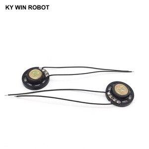 Image 3 - 2 ピース/ロット新超薄型おもちゃの車ホーン 8 オーム 0.25 ワット 0.25 ワット 8R スピーカー直径 27 ミリメートル 2.7 センチとワイヤー