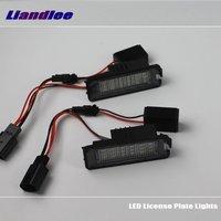 Liandlee For Volkswagen VW Phaeton 2002~2009 / LED Car License Plate Lights / Number Frame Light / LED Lamp