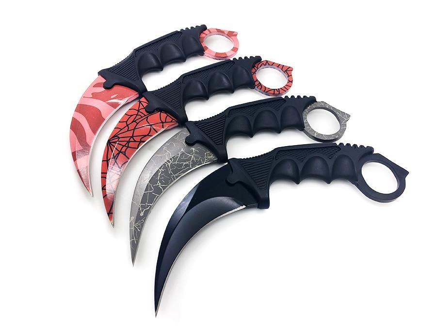 BGT CS GO Polowanie Stały nóż Karambit Tactical Combat Survival - Narzędzia ręczne - Zdjęcie 5