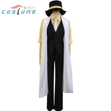 Vocaloid Trickery Casino Uniform Shirt Vest Pants Hat For Men Anime Halloween Party Cosplay Costumes Custom Made