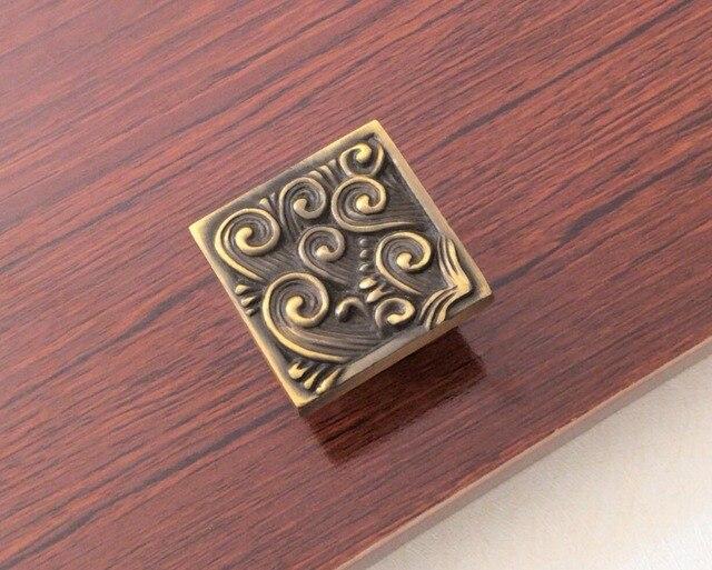 Vintage Messing/Silber Schublade Knöpfe Dresser Zieht Knöpfe Griffe ...