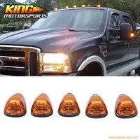 Fit Ford/Dodge Xe Tải Tam Giác Vàng Lens Top Led Cab Roof Lights 5 Cái Set USA Trong Nước Miễn Phí Vận Vận Chuyển Hot Bán