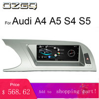 OZGQ 3G MMI TouchScreen Android Car Multimedia Player Headunit Autoradio For Audi 2009 2016 A4/S4/A5/S5 With GPS Navigation Maps