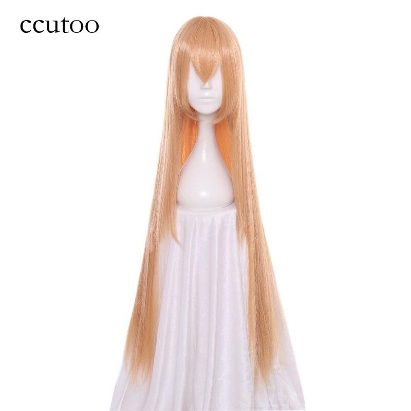 Ccutoo Himouto! Umaru-chan Doma Umaru 100 Cm Frauen Weibliche Gerade Lange Synthetische Haar Perücke Hitzebeständigkeit Kostüm Cosplay Perücke