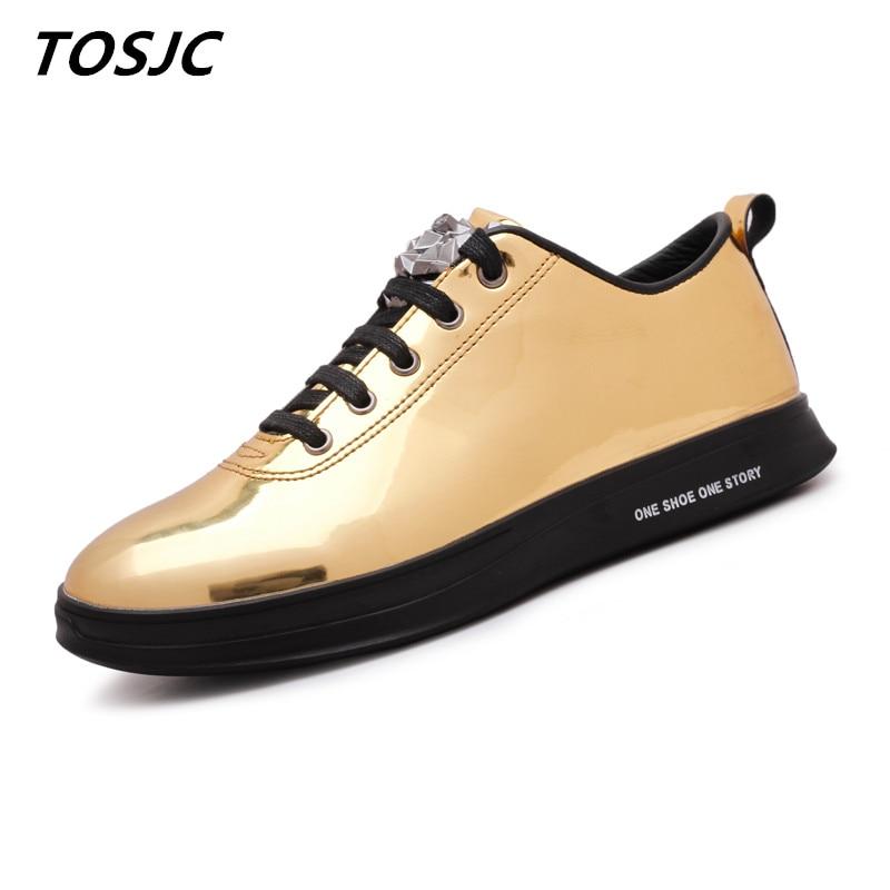 TOSJC 2018 Naujas stilius Vyras Mada Lauko Casual Sneaker Nėriniai - Vyriški batai