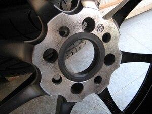 Image 5 - 73.1 66.1mm 20 pcs 블랙 플라스틱 휠 허브 중심 링 사용자 정의 크기 사용할 수있는 휠 림 부품 액세서리 도매 무료 배송