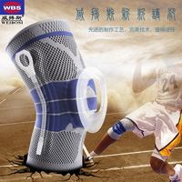 1Pie Silicone KneePads Sports Training Safety Football Basketball Tape Snowboard Tactical Knee Support Pads Calf Knee