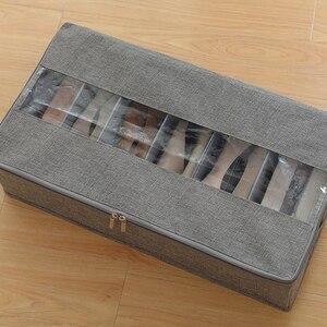 Image 5 - 折りたたみ防水保管靴箱と防塵収納多目的、便利で省スペース収納ボックス