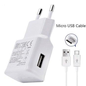 LED ljus 2 USB adapter Mobiltelefon Väggladdare 2A Enhets