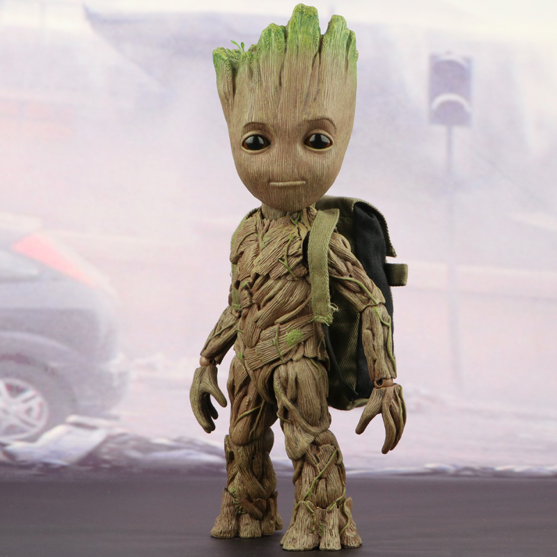 Groot Lovely Guardians Of The Galaxy Tree Man Toy The Avengers Superhero  Model Doll 1/