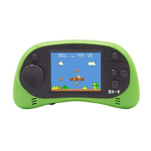 Image 2 - RS 8 Handheld Game Console for Kids Built in 260 Classic Old Video Games 2.5Lcd Retro Arcade Gaming Player TV out Birthday Gift