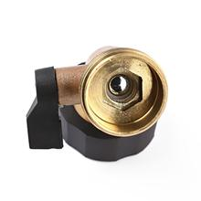 Garden Hose Shut Off Valve Water Shutoff Shut-Off Ball Standard Thread Connector Coupling