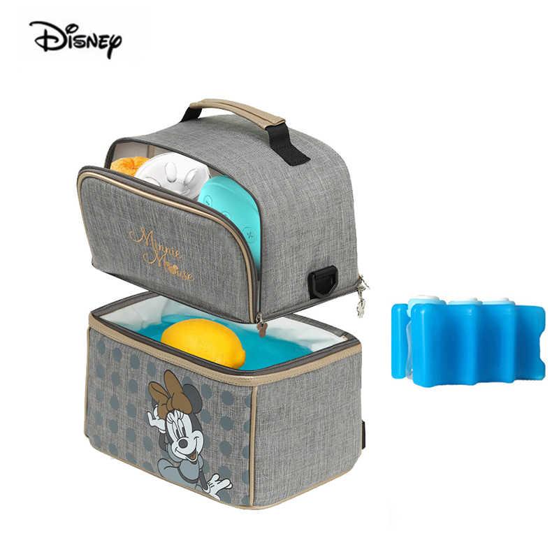 Disney maman sac multi-fonction épaule maman sac femme enceinte bouteille couche mère et enfant paquet diagonale sac à dos femmes