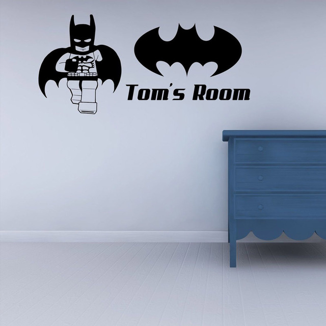 US $7.9 |Lego Superhero Batman Childrens Bedroom Wall Sticker Wall Art  Decal-in Wall Stickers from Home & Garden on Aliexpress.com | Alibaba Group