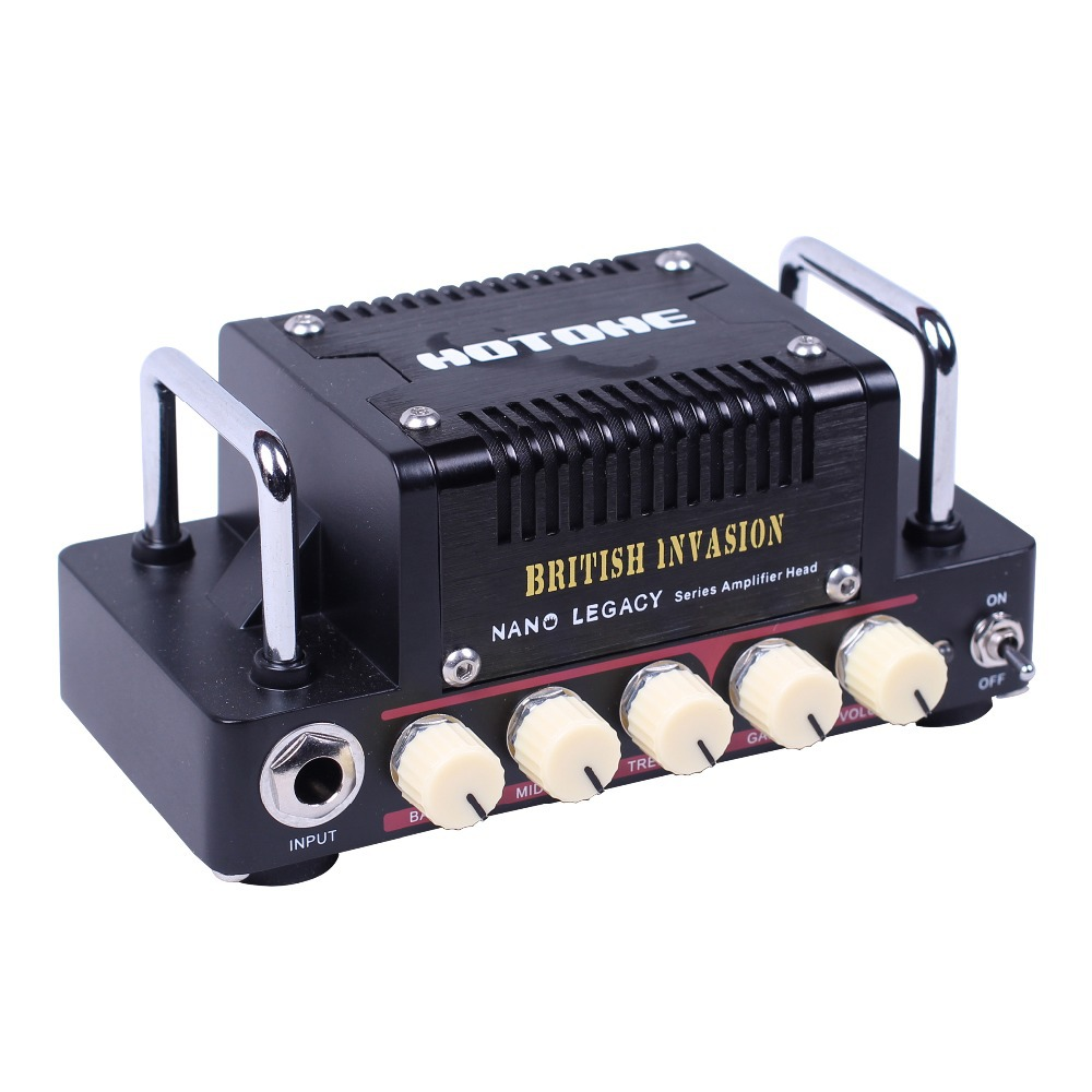 Hotone British Invasion 5W Class AB Guitar Amplifier Head Inspired by legendary AC30 High quality Sound Tone hotone audio nano legacy micro amp mini head series heart attack british invasion purple wind mojo diamond thunder bass