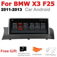 Car Android Radio GPS Multimedia player For BMW X3 F25 2011~2013 CIC stereo HD Screen Navigation Navi Media