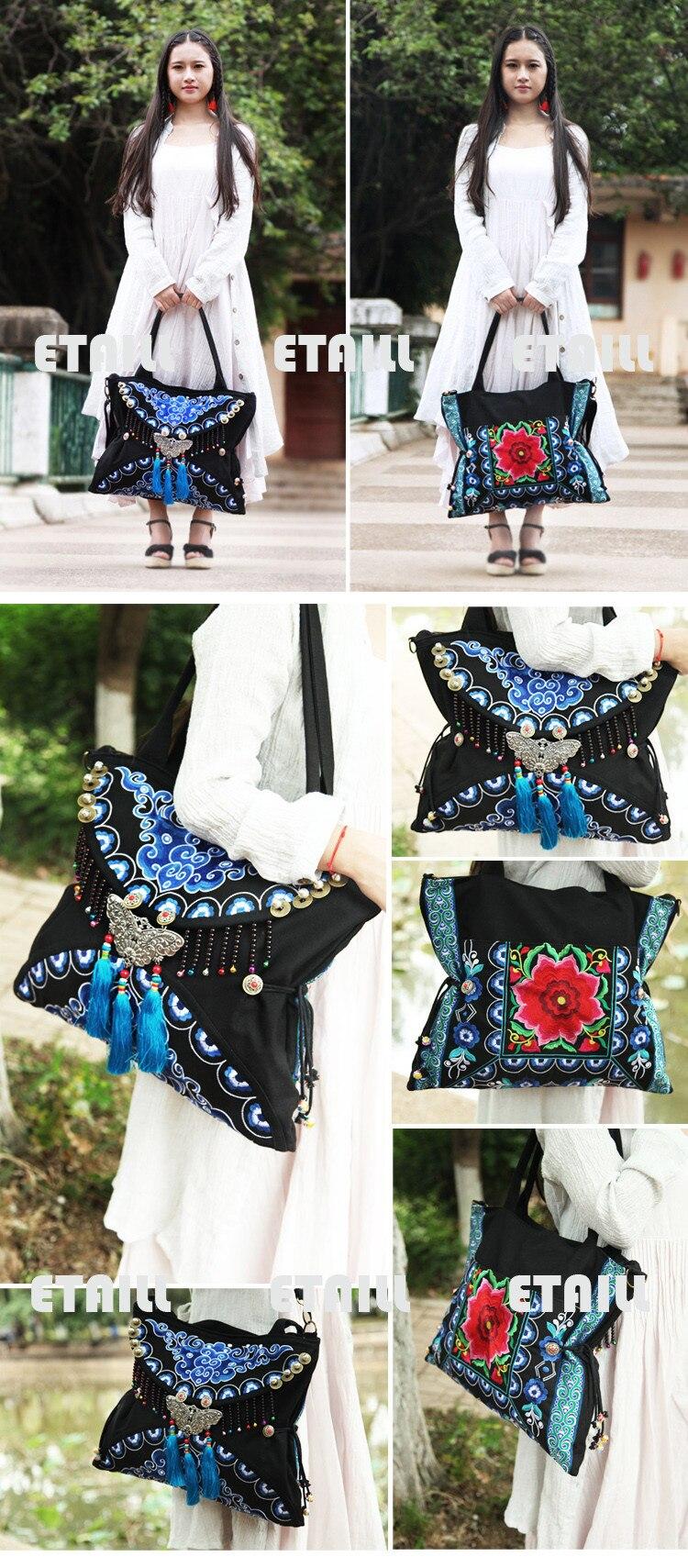 embroidery bag hobo