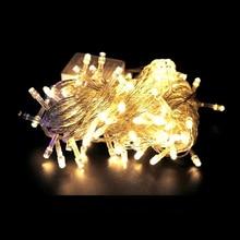 220V EU  Plug 80 LED 10m led String Light for Holiday Party Wedding led christmas lighting  LED String Lights Free shipping