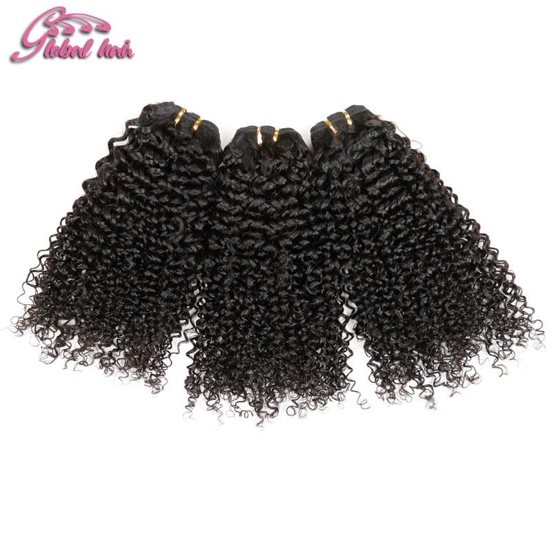 8A Grade brazilian curly virgin hair 3pcs lot kinky curly virgin hair 95g 100g bundle soft