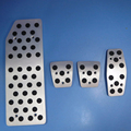 TTCR II Autozubehör hochwertige aluminiumlegierung Accelerator Gas Brems Fußstütze Pedale Pad für KIA Cerato AT/MT Aufkleber-in Autoaufkleber aus Kraftfahrzeuge und Motorräder bei