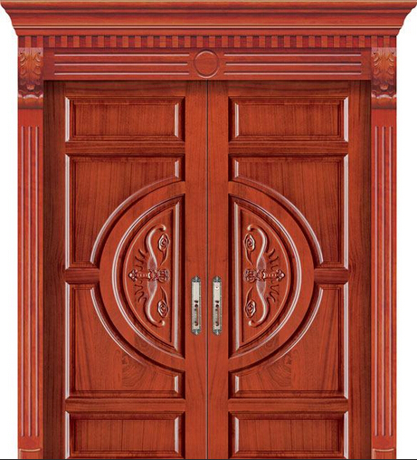 Aliexpress com   Buy Alibaba China Home Front Main Safety Wooden Door Design  from Reliable design wood door suppliers on China Building Materials Mart. Aliexpress com   Buy Alibaba China Home Front Main Safety Wooden