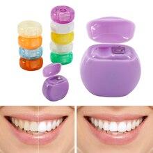 Горячая 1 шт. 10 м уход за полостью рта, гигиена полости рта, портативная зубная нить, полиэстер, для повседневной жизни, зубная нить, межзубная щетка, чистящие инструменты для зубов
