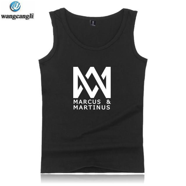 Pop Agir O Marcus E a Martinus Regatas Plus Size Verão Colete Roupas  Casuais Hip Hop 3e11ec2593c