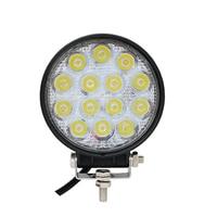 42W 12V 24V LED Work Light Spot Flood Round LED Offroad Light Lamp Worklight For Off