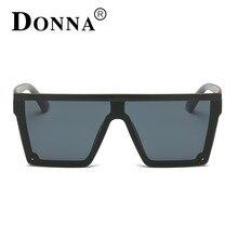 DONNA Fashion 2017 Retro Square Sunglasses Brand Designer Men Sunglasses Driving Outdoor Sport Sun Glasses Eyewear Male D89