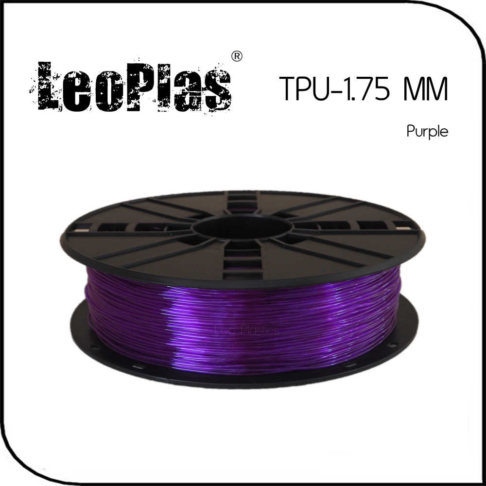 Worldwide Fast Delivery Manufacturer 3D Printer Material 1kg 2 2lb Soft Rubber 1 75mm Flexible Purple