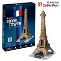 Birthday gifts,educational puzzle toys,3D paper model,World Architecture series,Paper craft,The Eiffel Tower