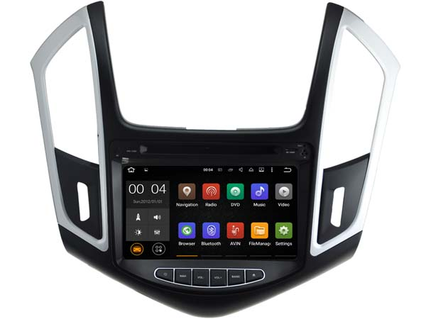 Android 7.1.1 2 GB ram lettore Audio dvd dell'automobile PER CHEVROLET CRUZE 2013 2014 2015 gps Multimediale testa dispositivo unità ricevitore BT WIFI