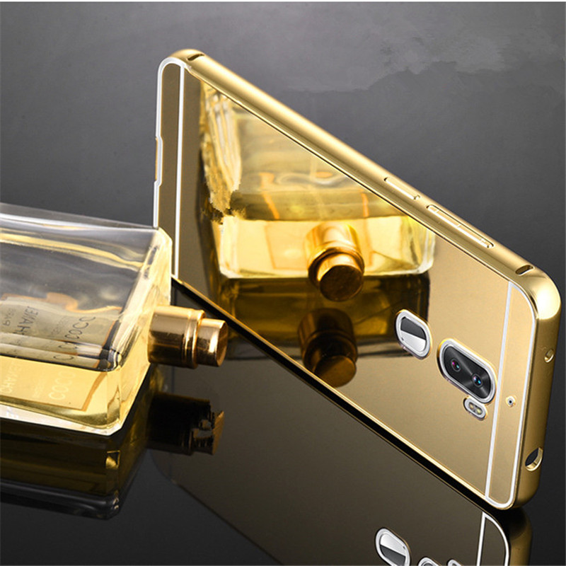 ̿̿̿(•̪ )Fundas para Huawei honor 6X caso de aluminio del metal del ...