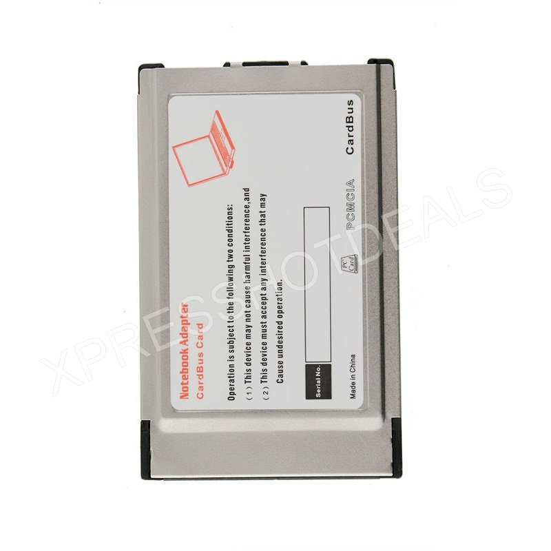 PCMCIA To USB 20 CardBus Dual 2 Port 480M Card Adapter For Laptop PC Computer In Add On Cards From Office Aliexpress