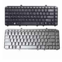 US Tastiera del computer portatile di trasporto per Dell inspiron 1420 1520 1521 1525 NK750 R1-5-B08 PP29L XPS M1530 XPS M1330 US Argento e nero