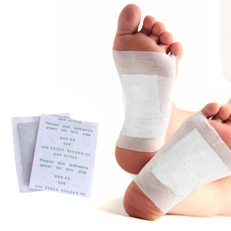 800pcs=400pcs patches+400pcs Adhensives Kinoki Detox Foot Patches Slimming Feet Pads Improve Sleeping And Blood Circulation-in Feet from Beauty & Health