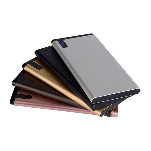 Slim 10000 mAh Power Bank,Portable Ultra-thin Polymer Powerbank battery power-bank 10000mah With LED Light for Mobile Phone 4