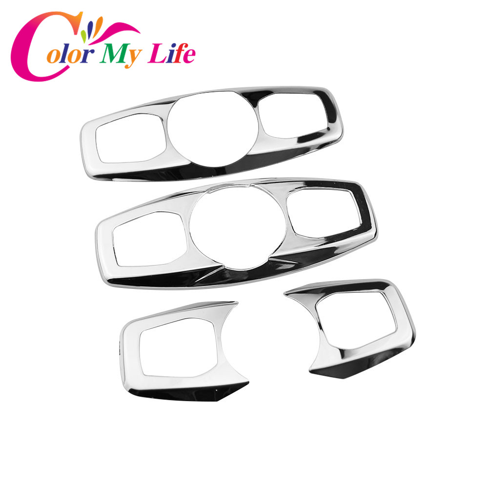For Ford Escape Kuga 2013-2017Chrome Roof Reading Light Lamp Panel Trim Cover