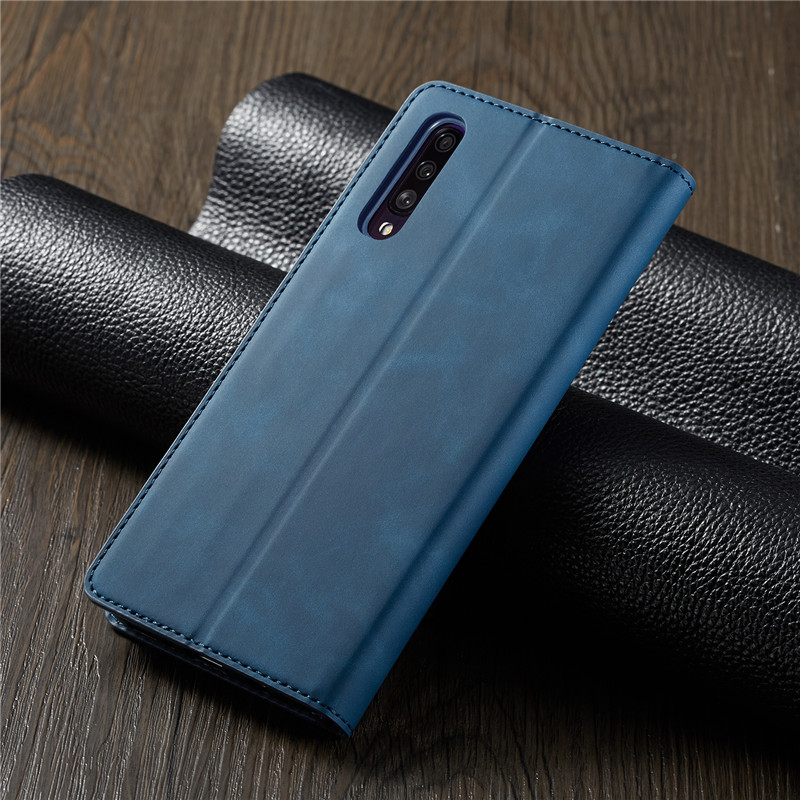 HTB1.fDka8Gw3KVjSZFwq6zQ2FXaY Luxury Leather A50 A51 A71 Case For Samsung Galaxy A70 A51 A40 A30 A20 A20E A10 M10 Strong Magnetic Wallet Flip Card Slots Cover