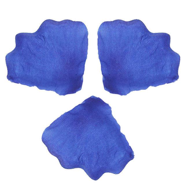 500pcs Artificial Dark Blue Rose Petals Flowers Wedding Table