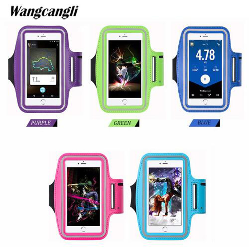 Armbands Wangcangli For Iphone Mobile Bracelet Run Phone Armband Cover For Running Arm Band The Holder Of The Phone On The Arm Discounts Price