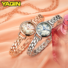 купить 2018 Fashion Elegant Women's Rhinestone Quartz Watch Lady Casual Luxury Dress Bracelet Watches Diamond Crystal Clock по цене 2452.94 рублей