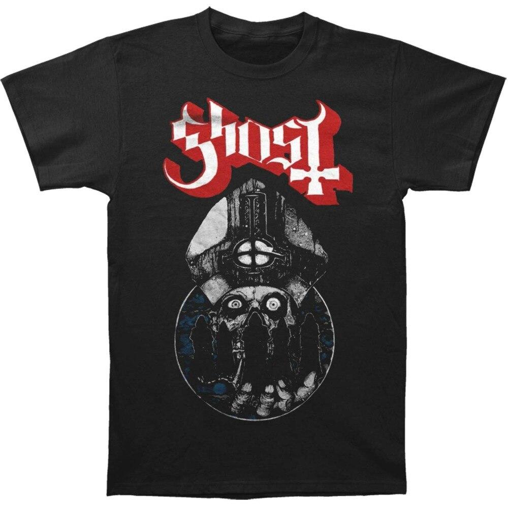 Ghost B.C Warrior Casual T-Shirt Male Short Sleeve Pattern Tee Shirt Hipster Harajuku Brand Clothing T-Shirt