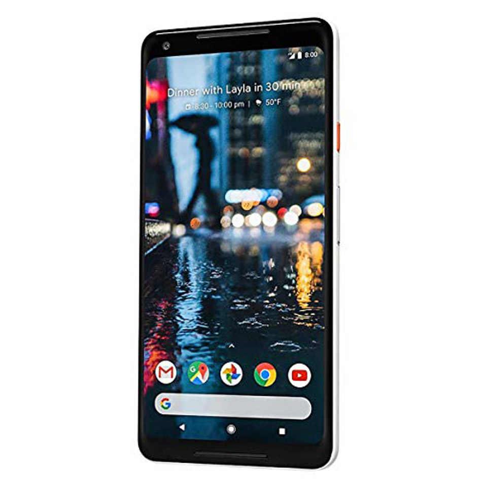 Nuevo Original de la UE de la versión 6 pulgadas Google Pixel 2 XL teléfono móvil 4GB 128GB Snapdragon 835 Octa Core huella dactilar 4G LTE teléfono NFC